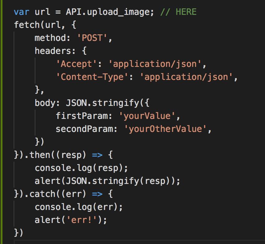 react native code